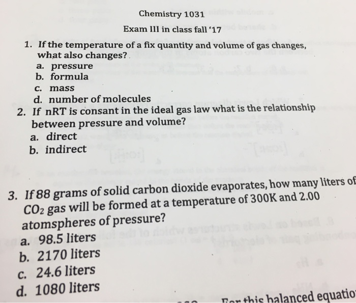 Direct and indirect relationships in chemistry