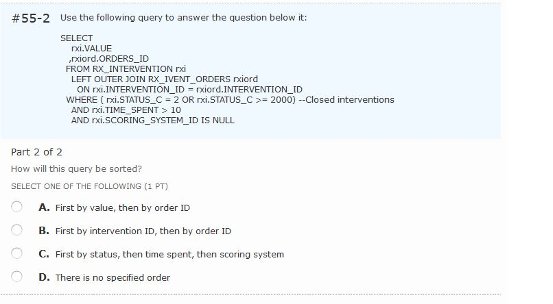 Solved 55 2 Use The Following Query To Answer The Questi Chegg Com