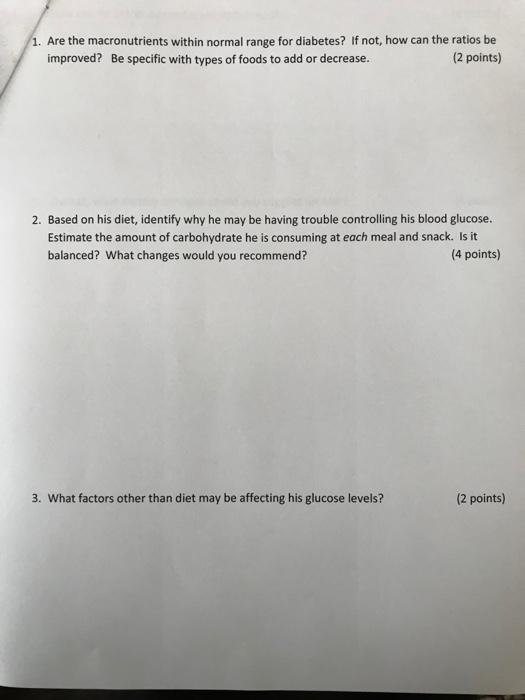 diabetes type 2 case study pdf