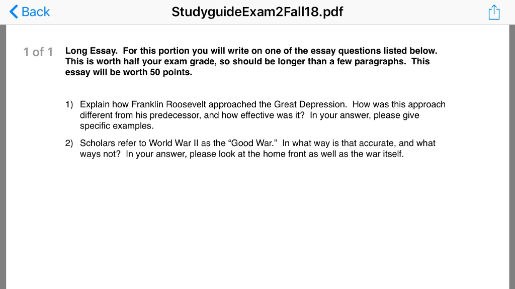 how did world war 2 change the world essay