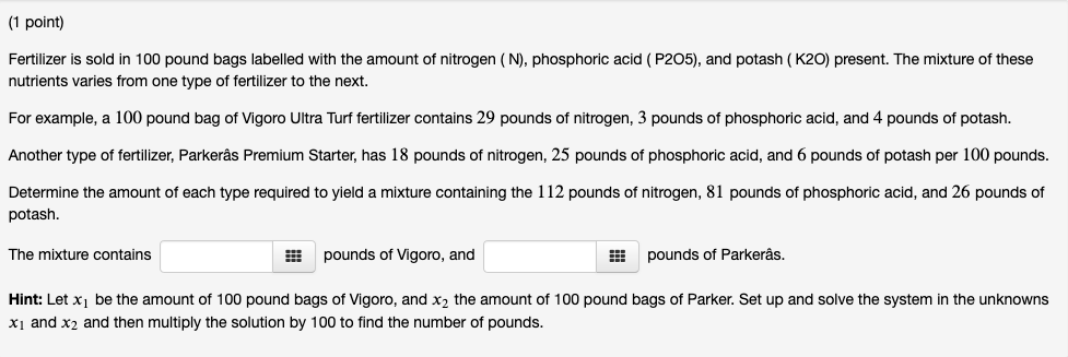 1 Point) Consider The Chemical Reaction ACH4 + 50    | Chegg com