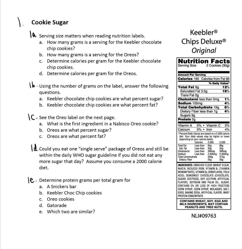 Corn Nuts Nutrition Label
