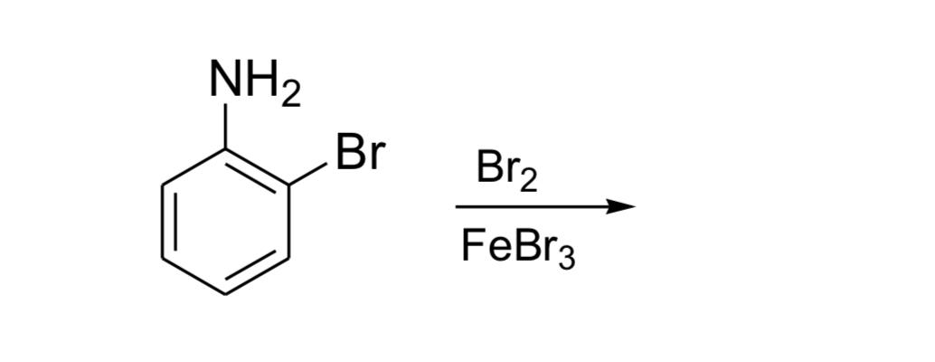 NH2 Br2 FeBr3