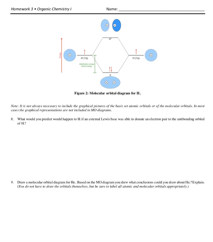 Solved  Homework 3  Organic Chemistry Name  H  15  H  15