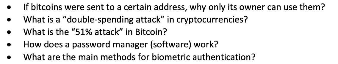 ". . If bitcoins were sent to a certain address, why only its owner can use them? What is a ""double-spending attack"" in crypto"