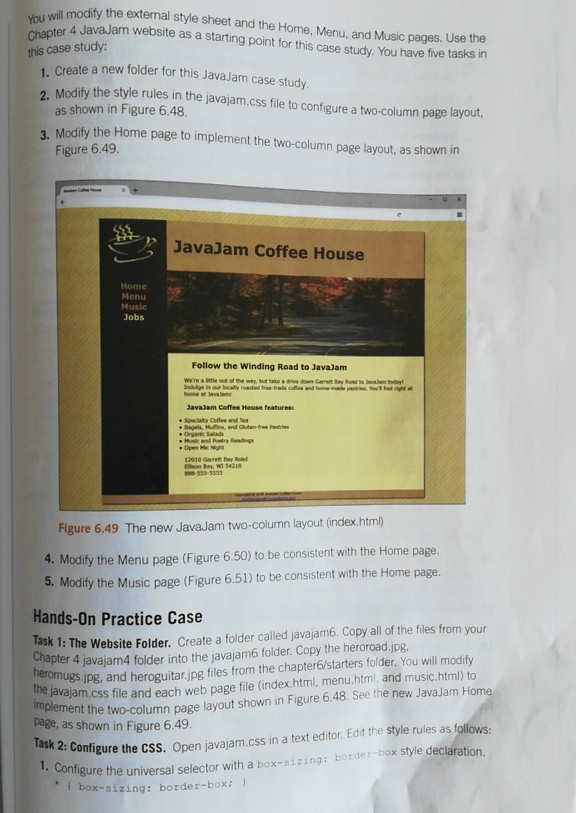 javajam coffee house case study css
