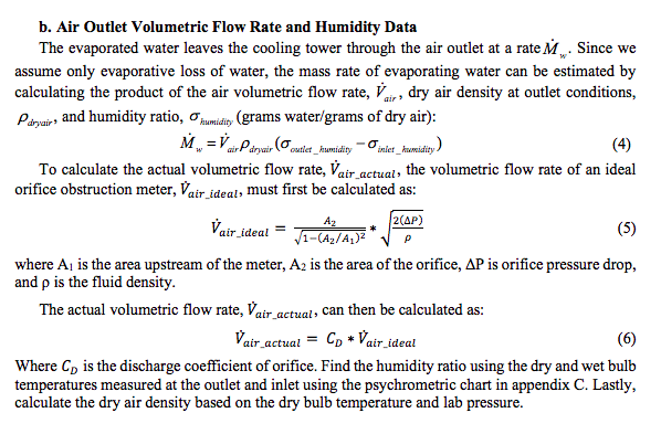 Solved: Calculate The Mass Flow Rate Of Evaporating Water