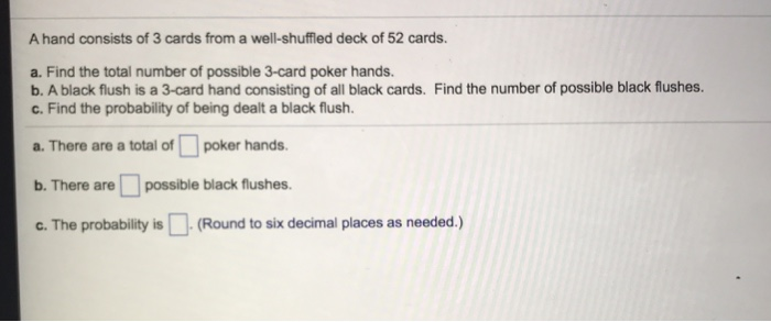 Total number of possible poker hands pleneuf val andre restaurant casino