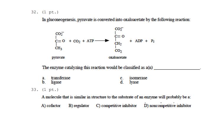 Oxaloacetate Structure