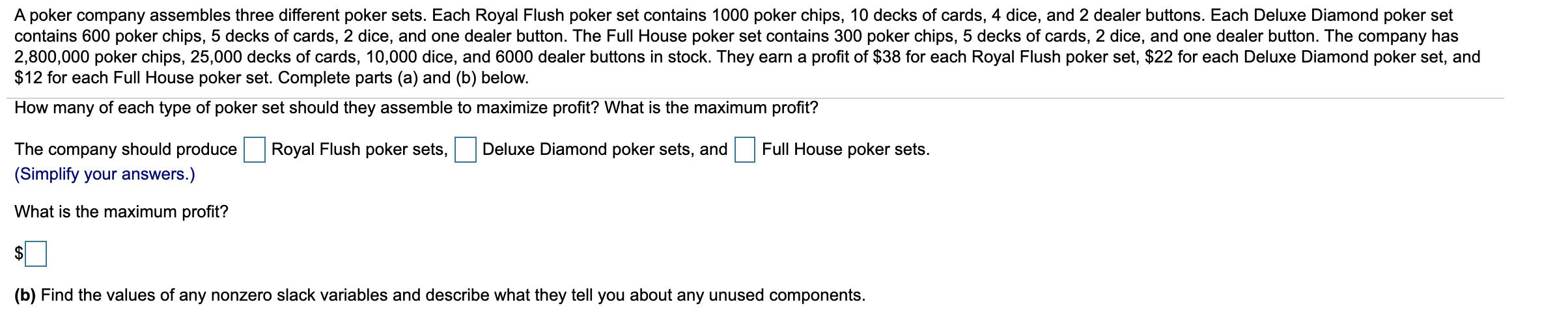 1,000  White Diamond Poker  Chips