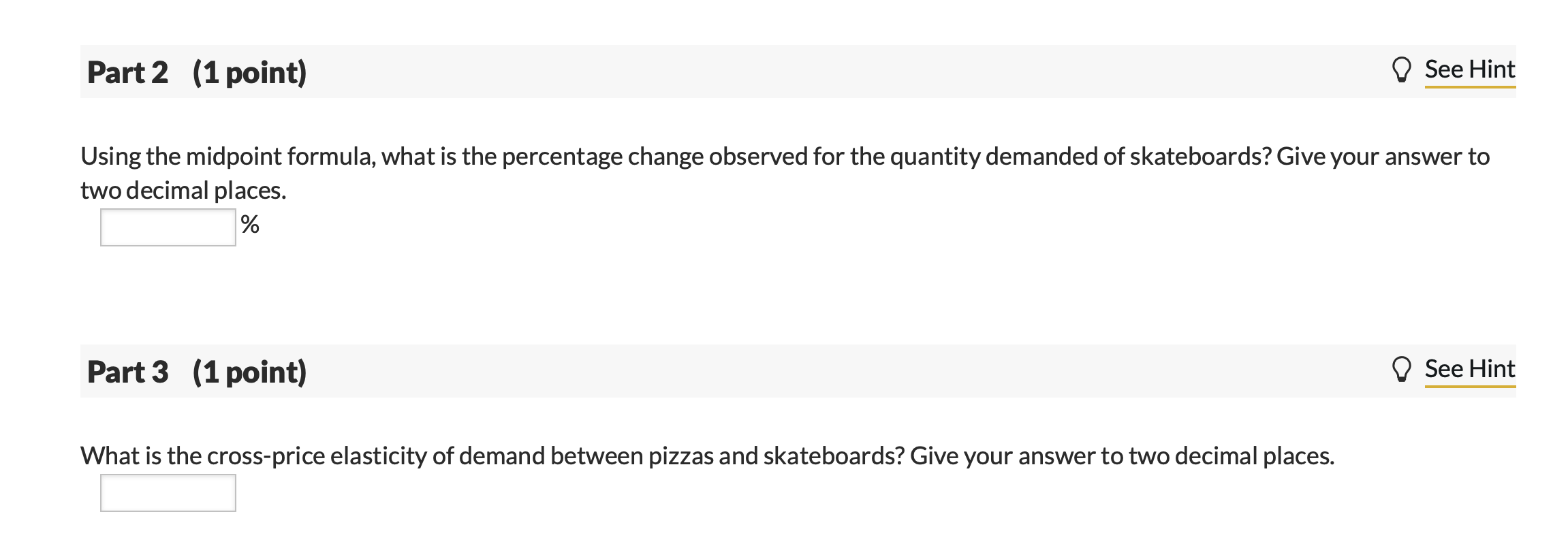 Solved The Price Of A Large Pizza Decreased From 21 00 T