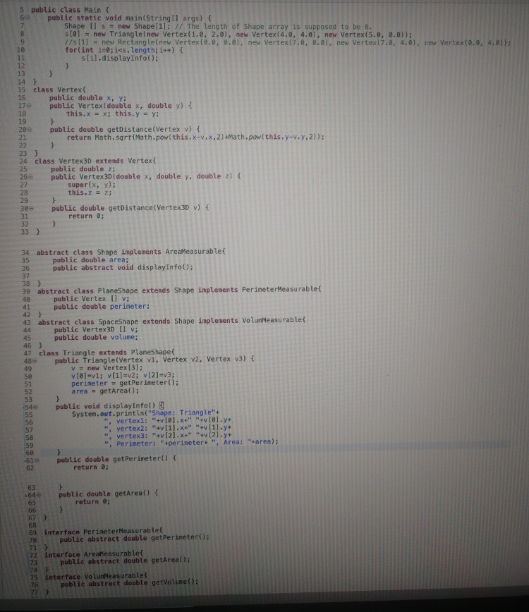 Solved: Answer In JAVA  The Code Below Is What I Have So Far