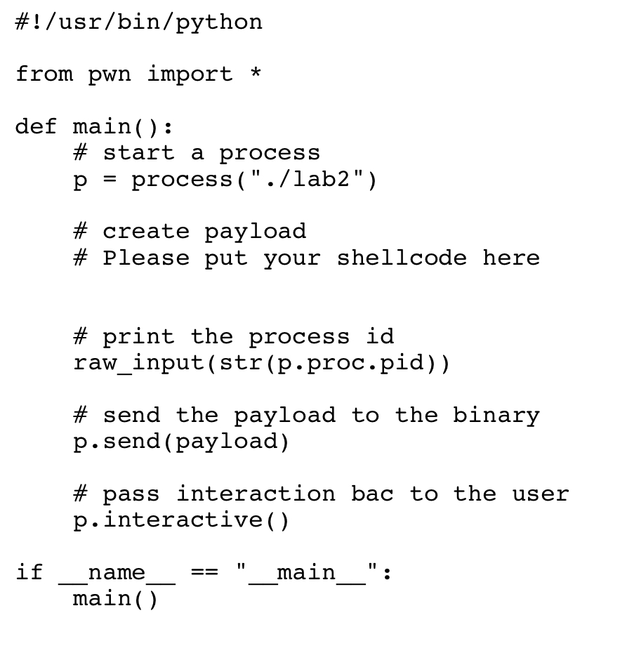 Now You Can Craft Your Shellcode In Exploit py  Ag