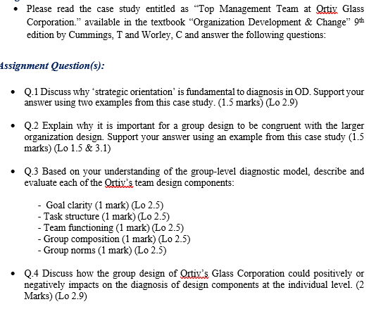 Solved Please Read The Case Study Entitled As Top Mana Chegg Com