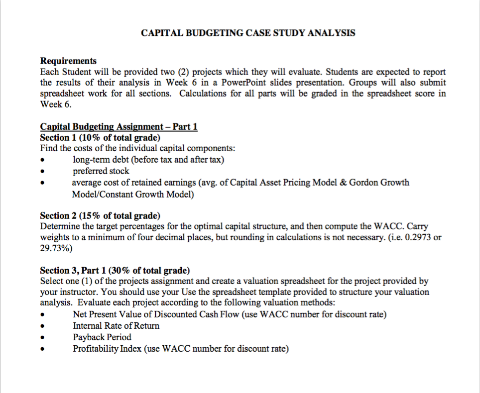 capital budgeting decisions pdf