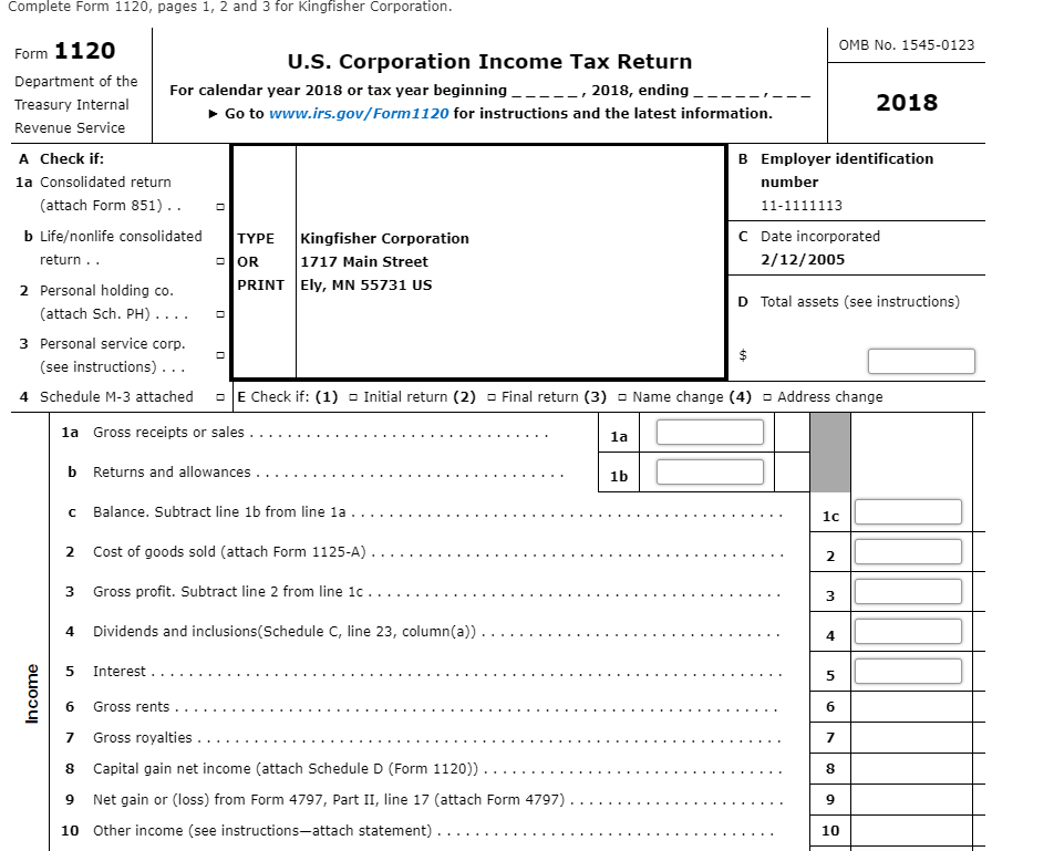 form 8992 tested income  Note: This Problem Is For The 12 Tax Year. On Fe ...