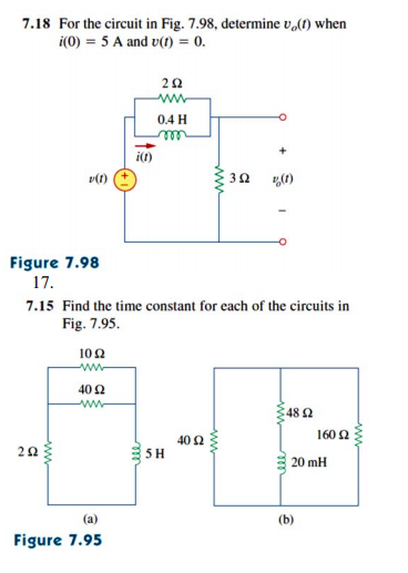 1659e8999ec6 Solved: 7.18 For The Circuit In Fig. 7.98, Determine Vo ...