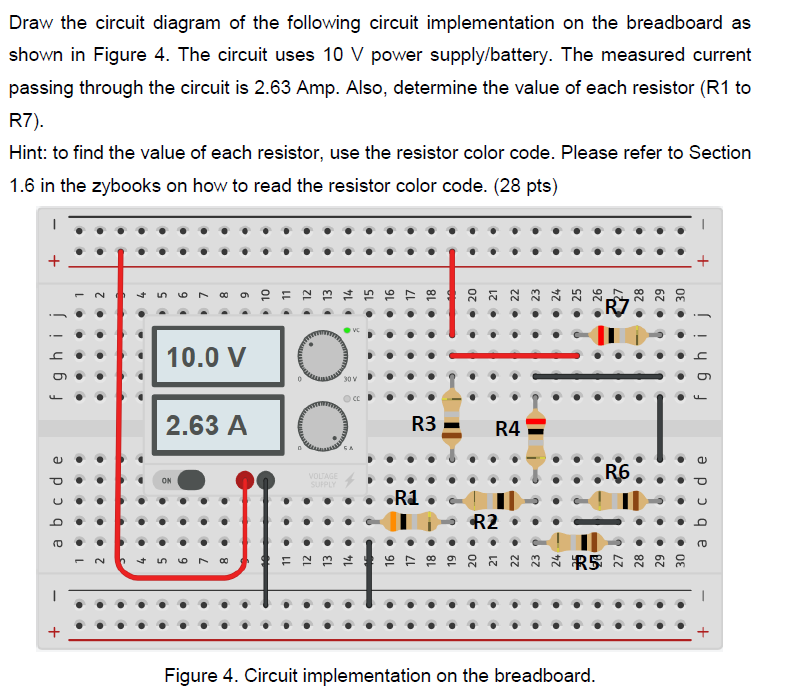 Solved  Draw The Circuit Diagram Of The Following Circuit