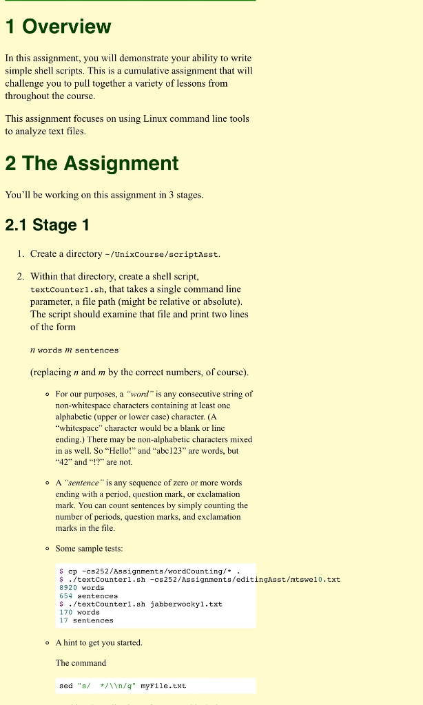 Solved: 1 Overview In This Assignment, You Will Demonstrat