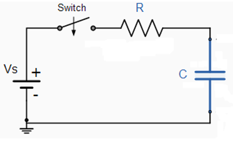 Solved: Given Is The Circuit Diagram Of A Simple RC Circui... | Chegg.comChegg