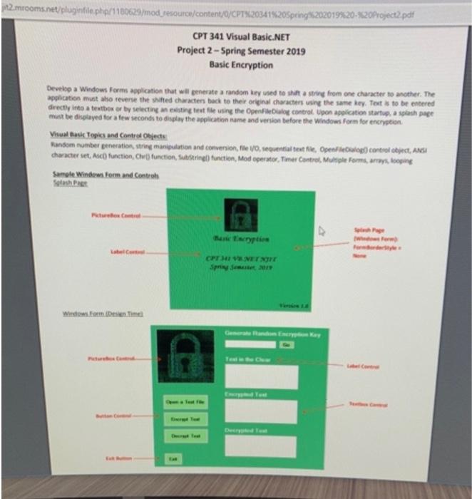 Project pdf vb.net
