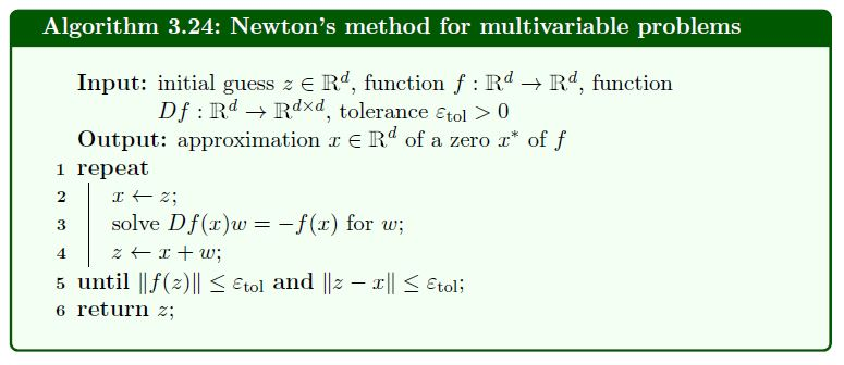 Assignment 2 3  (Newton's Method For Multivariable