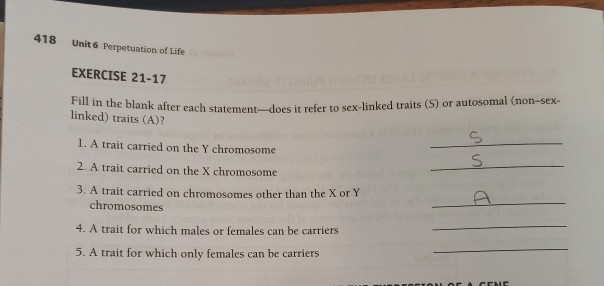 Answer in later life question sex