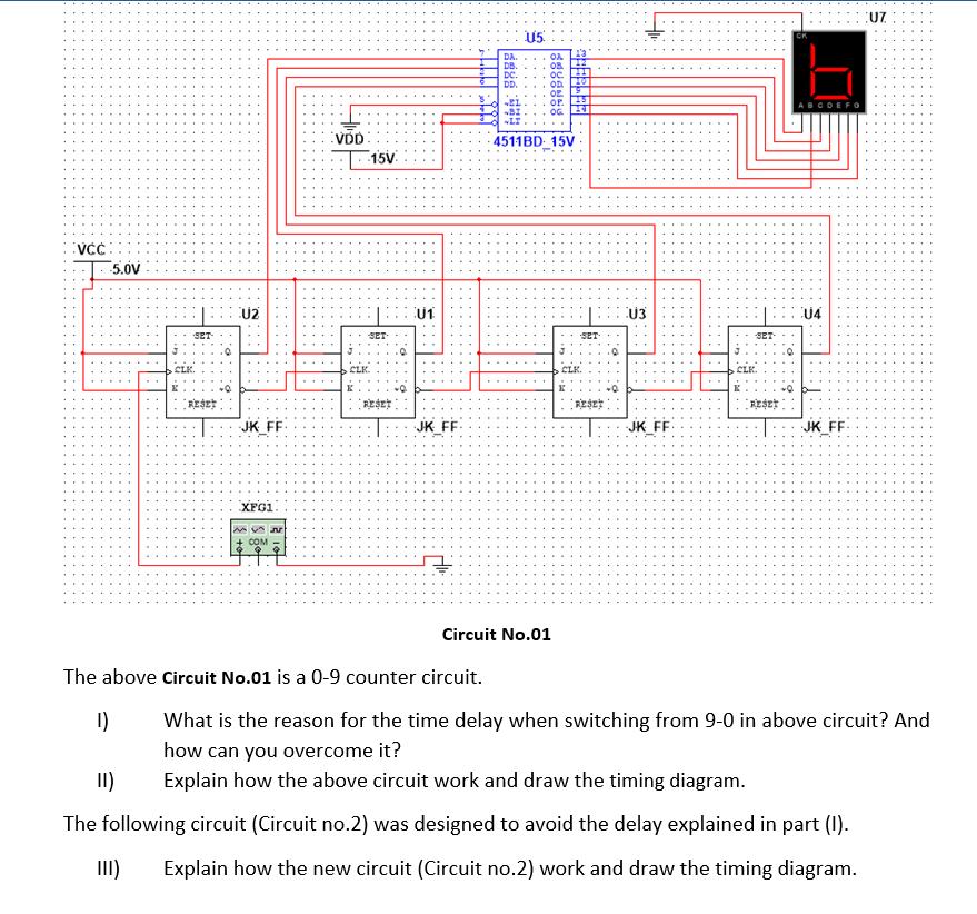 Solved 115 15v 15v 5 0v Circuit No 01 The Above Circ Chegg Com