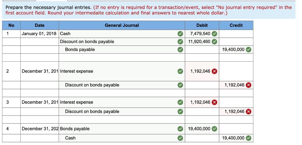 calculate interest expense zero coupon bond