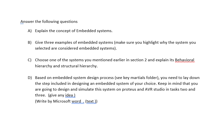 Solved Answer The Following Questions A Explain The Conc Chegg Com