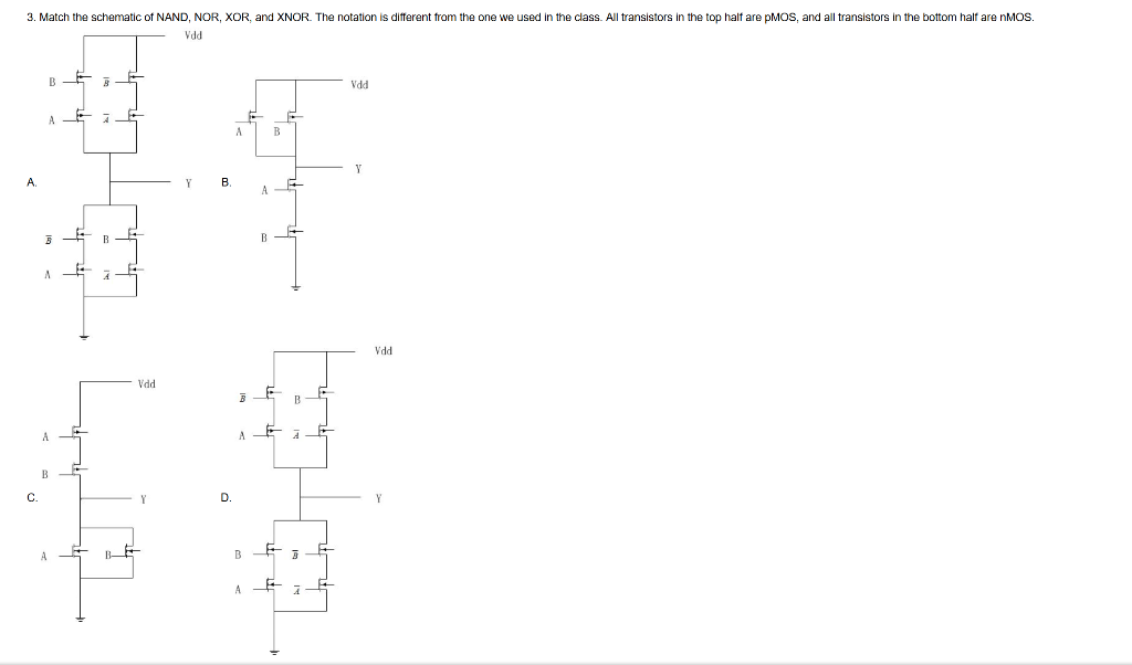 on xnor schematic