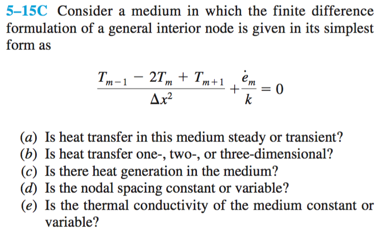 simplest form generator  Solved: 13-113C Consider A Medium In Which The Finite Differ ...