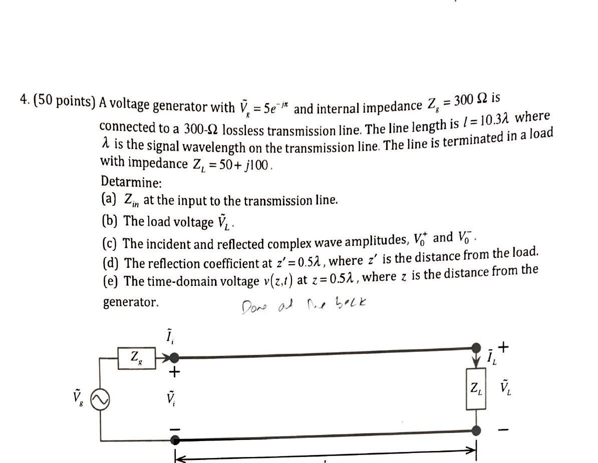 """5E Generator solved: 4.(50 points) a voltage generator with v = 5e"""")* a"""