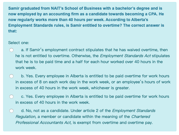 Samir Graduated From Nait S School Of Business Wit Chegg Com
