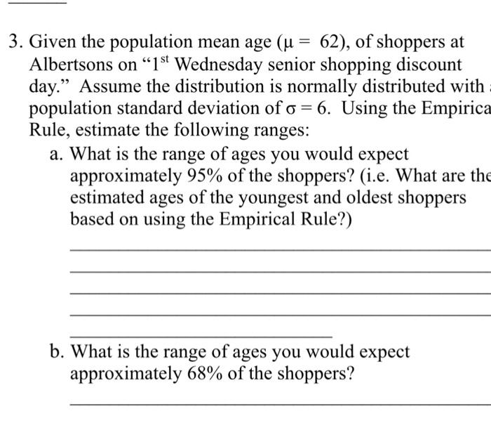 Senior age range