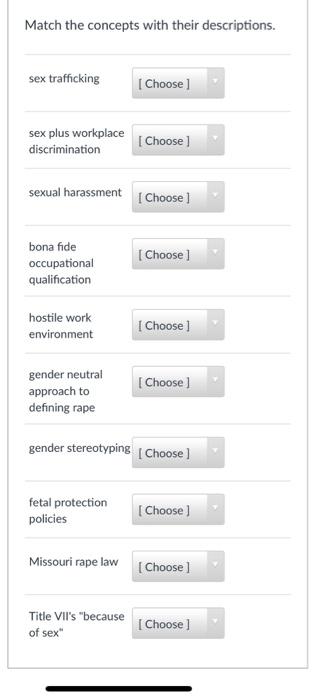 What is sex plus discrimination