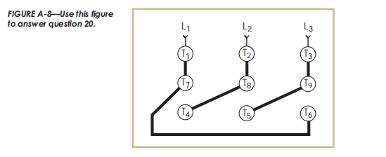 Solved The Terminal Block Connections Shown In Figure A 8 Chegg Com