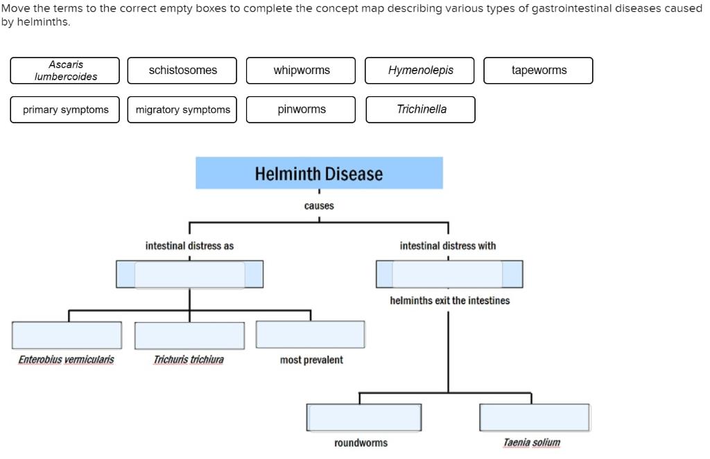 helminth diseases caused
