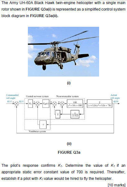 The Army UH-60A Black Hawk Twin-engine Helicopter ... | Chegg.comChegg
