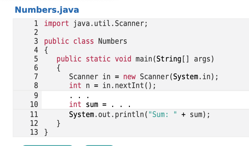 Solved: JAVA, Please Help Finish The Code And Fill In