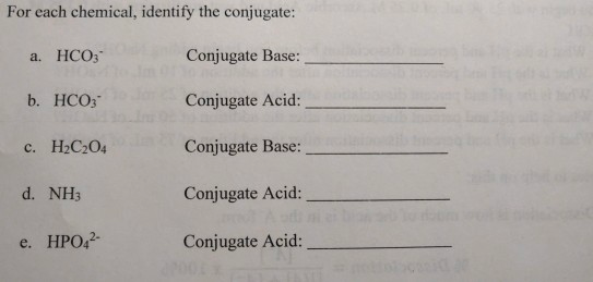 PDF  Conjugate Acid-Base Pairs Ordered by Strength Acids Bases
