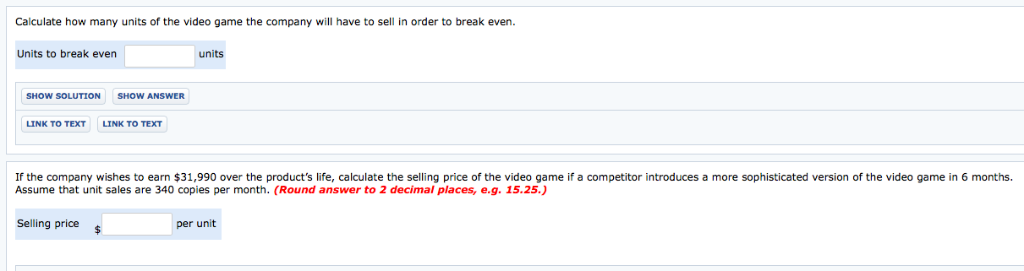 Solved: Exercise 6 20 A-c Kirkland Video Games Inc  Is Dev