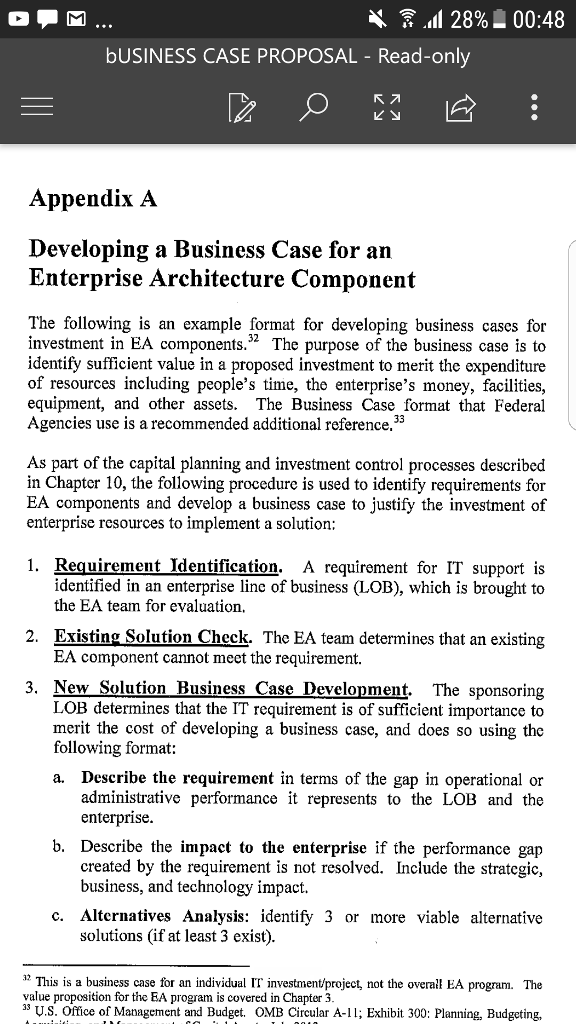 Writing A Business Case Proposal