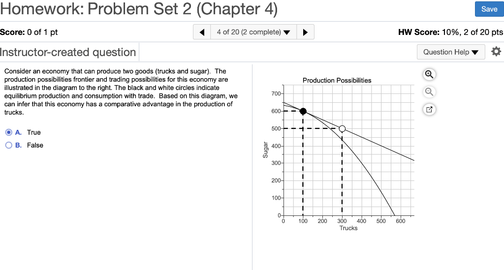 Homework: Problem Set 2 (Chapter 4) Save Score: 0 of 1 pt 4 of 20 (2 complete) HW Score: 10%, 2 of 20 pts Instructor-created