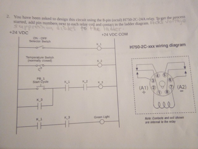 Solved: Co Nd Contact In The Ladder Diagram. 2. You Have B ... on 9 pin relay diagram, 11 pin relay diagram, 8 pin power, 4 pin relay diagram, 14 pin relay diagram, 6 pin relay diagram, 5 pin 12v relay diagram, 7 pin relay diagram, ac condenser fan motor wiring diagram, 12 pin relay diagram, well pump pressure switch diagram, 3 pin relay diagram, 10 pin relay diagram, 2 pin relay diagram, idec relays diagram,