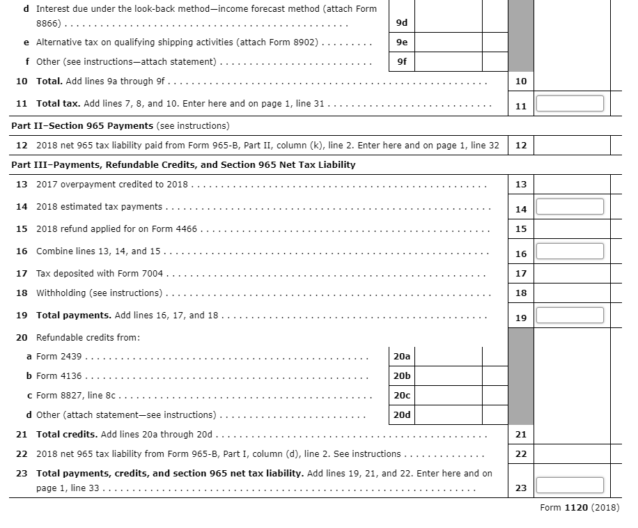 form 965-b  Note: This Problem Is For The 16 Tax Year. On Fe ...