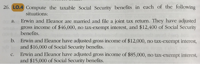What Is Adjusted Gross Income For Social Security