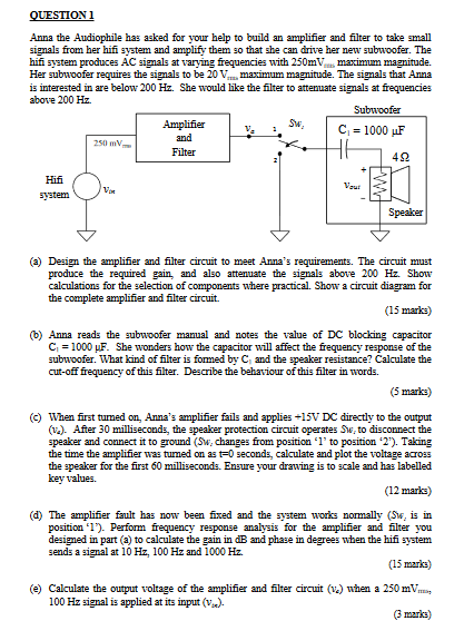 on 5 1 subwoofer circuit diagrams