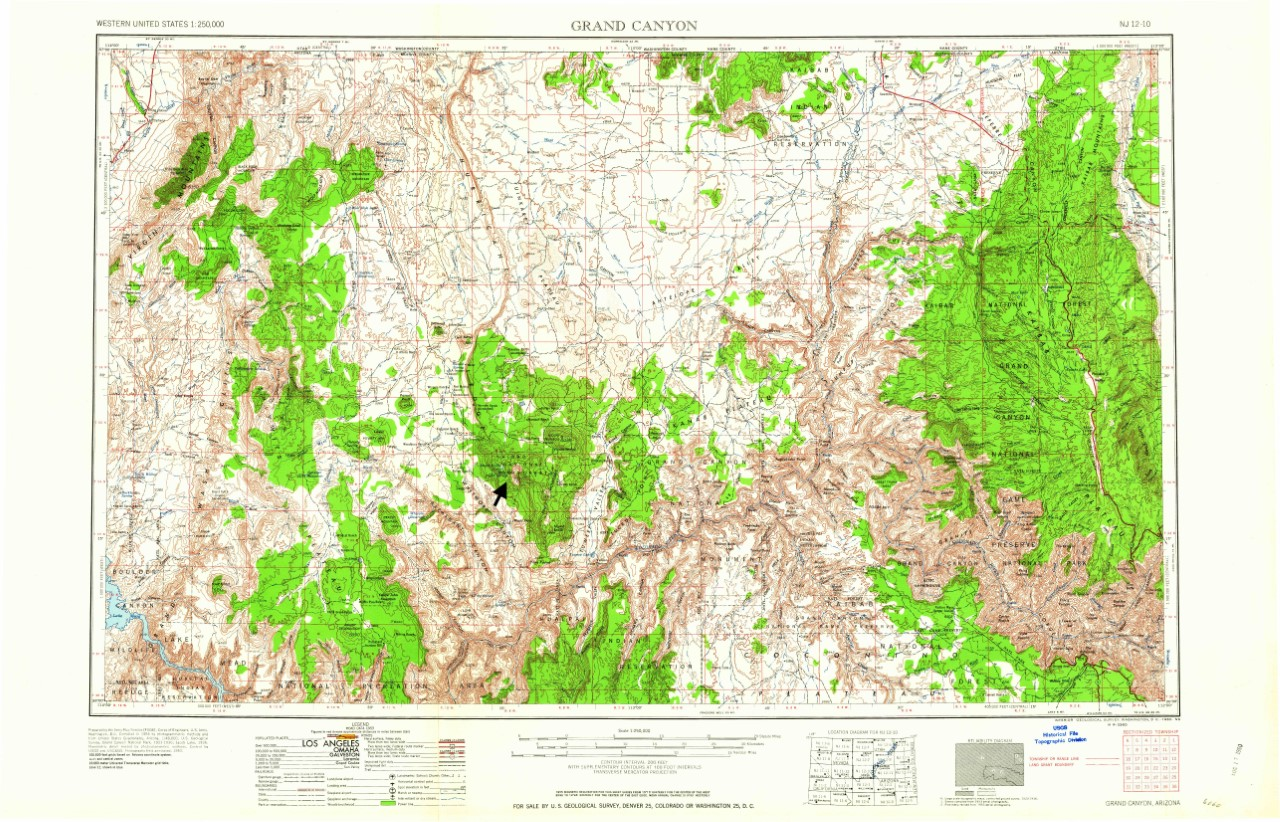 3 grand canyon 1 250 000 topographic map a what chegg com grand canyon 1 250 000 topographic map