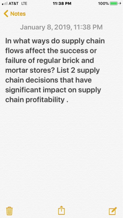 role of supply chain management in an organisation
